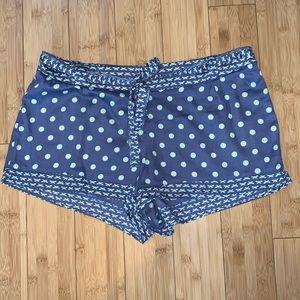 Victoria's Secret Sz L Blue sleep shorts (#11B1)